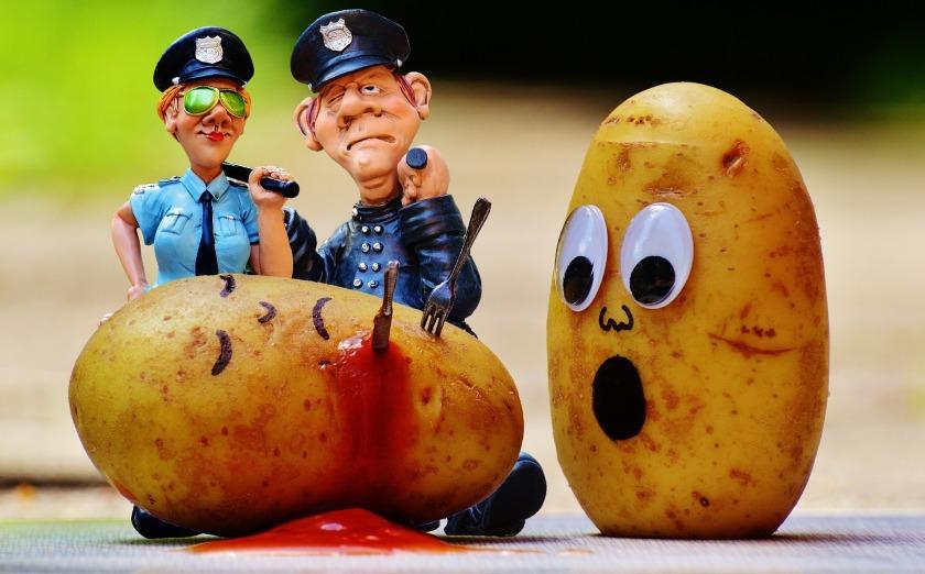 Murder Funny Potato