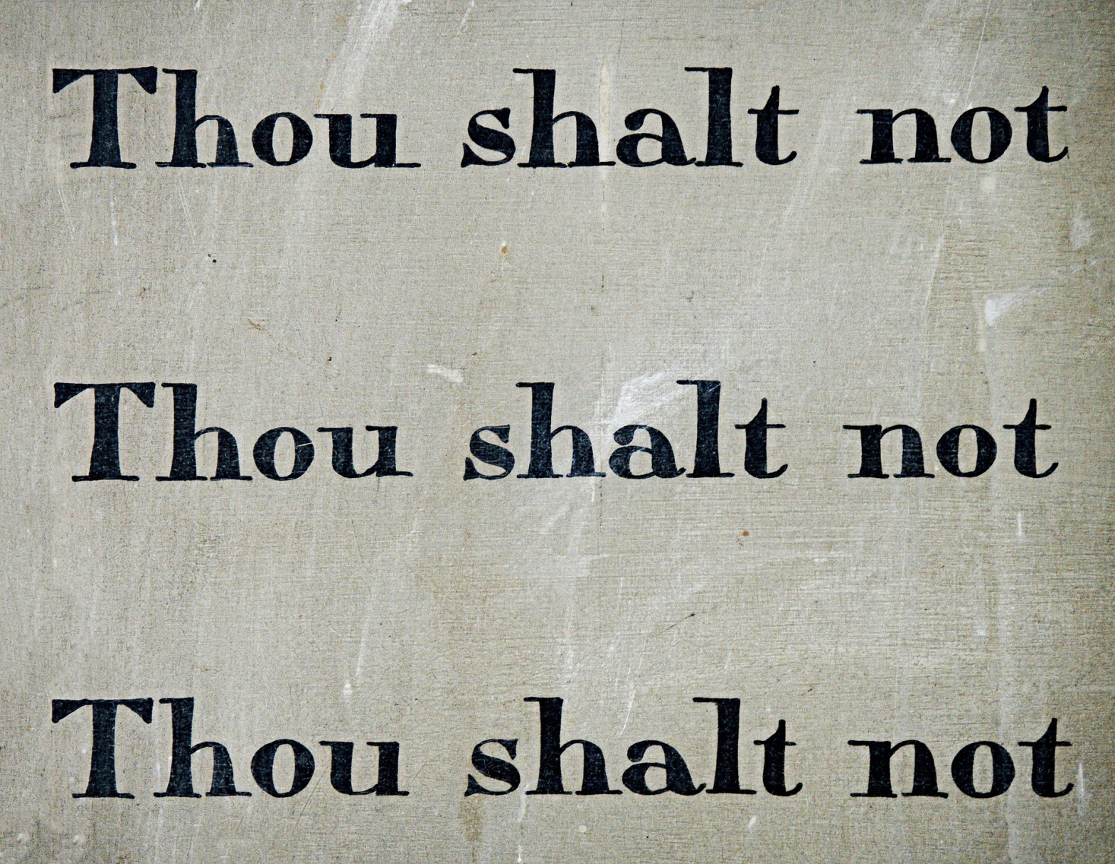 https://pixabay.com/en/commandment-thou-shalt-not-law-1431061/
